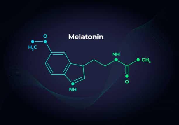 melatoniini-kaava