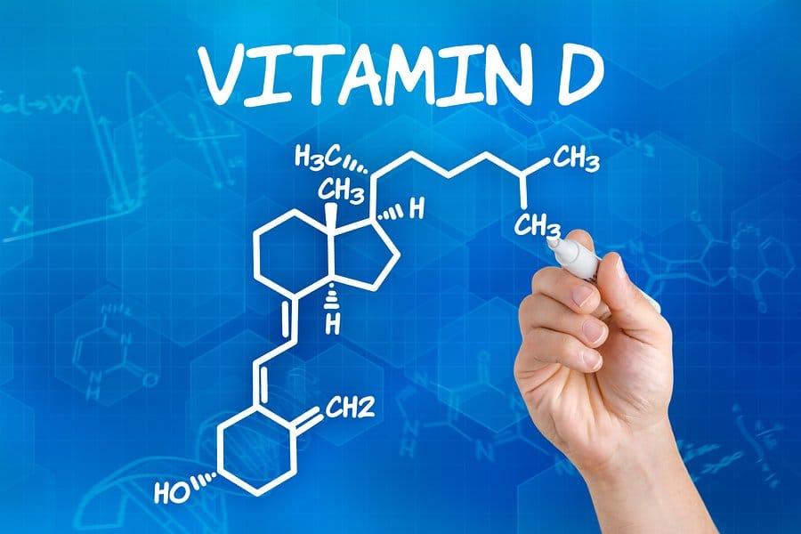d vitamiinin kaava